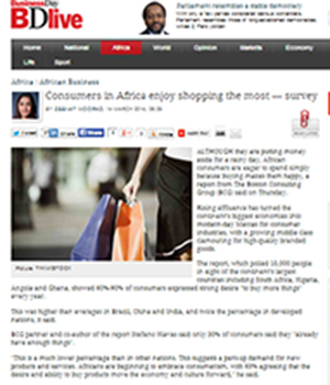 Consumers in Africa enjoy shopping the most — survey